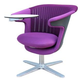 Modern Steelcase I2i Collaborative Ergonomic Dual Swivel Lounge Chair For Sale