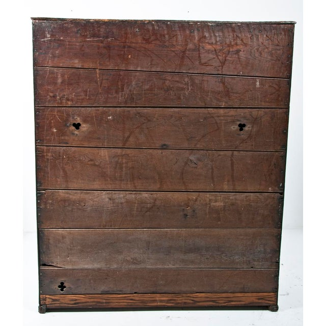18th Century English Oak Bacon Settle For Sale - Image 9 of 11