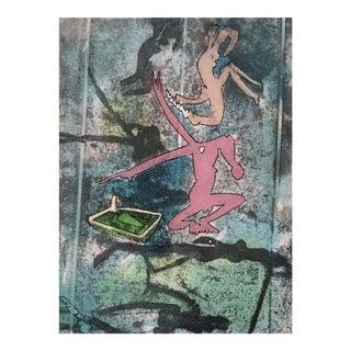 Roberto Matta Centre Noeuds, Plate IV 1974 For Sale
