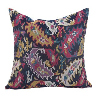 "Gabbana Ikat 20"" Pillow For Sale"