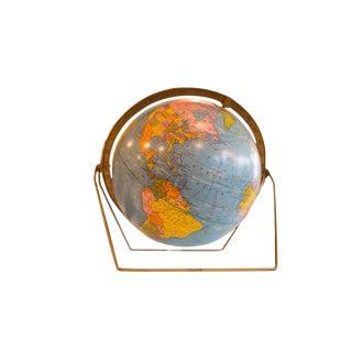 Vintage 1960s Cram's George F Cram Scholastic Globe For Sale
