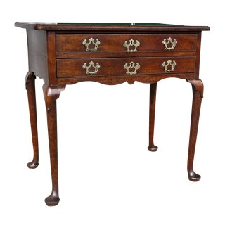 George II Walnut Side Table For Sale