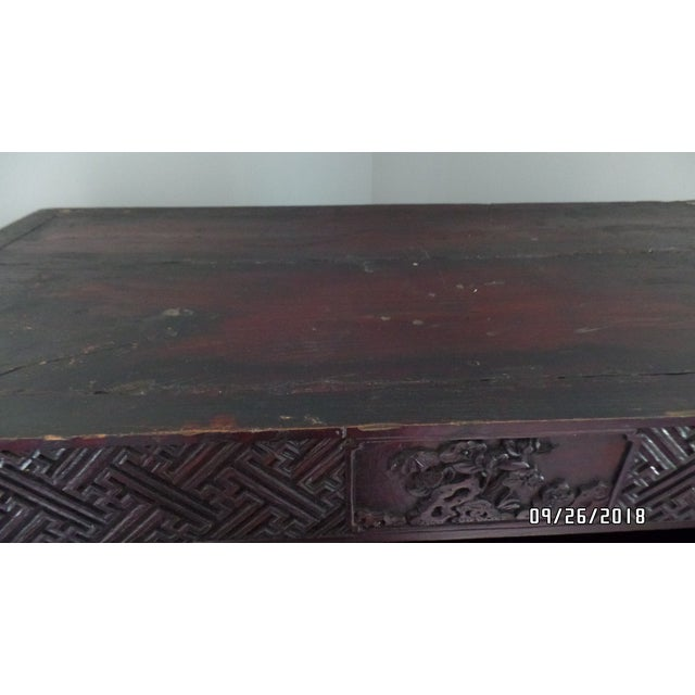 Antique Chinese Wardrobe- Wedding Chest For Sale - Image 10 of 13