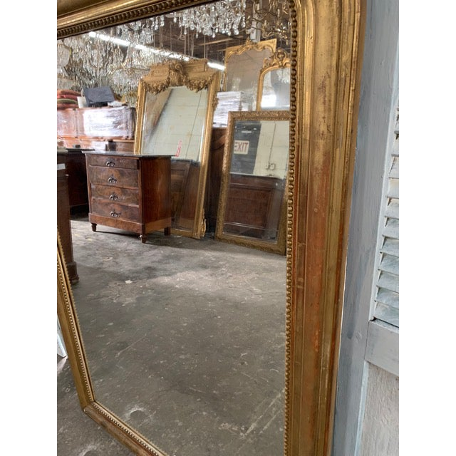 19th Century Grand Louis Philippe Mirror For Sale - Image 4 of 10