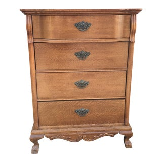 1950s Victorian Lexington 4-Drawer Chest For Sale