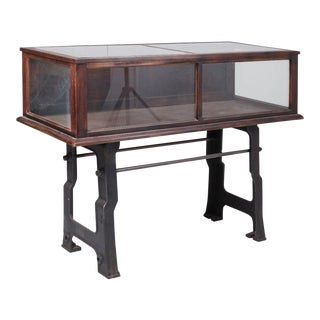1940s Industrial Display Case For Sale