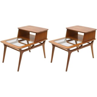 Heywood-Wakefield Two-Tiered Side Tables, 1960s, Usa Preview