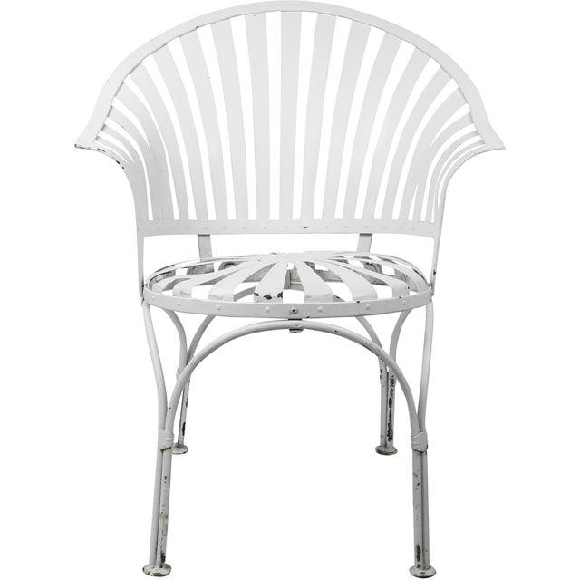 Francois Carre Vintage Fan Back Patio Armchair - Image 11 of 11