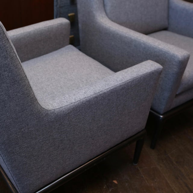 Mid-Century Modern Pair of Martin Brattrud of California Club Chairs For Sale - Image 3 of 8