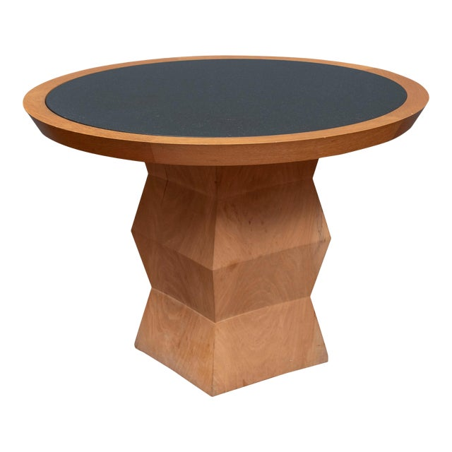Christian Liaigre Yquem Pedestal Table For Sale