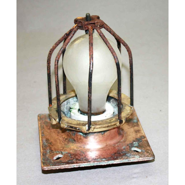 Original New York City subway cage lights. Priced each according to cleaning & rewired. 1-2 weeks to process. Made by...