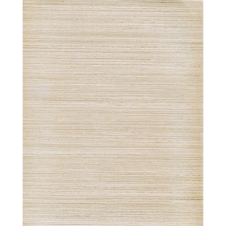 Maya Romanoff Raw Silk - Peal Charmeuse: Hand-Painted Vinyl Wallcovering, 24 yds (21.9 m) For Sale