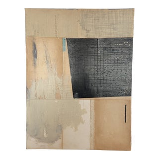 Contemporary Minimalist Mixed-Media Painting by Ross Severson For Sale