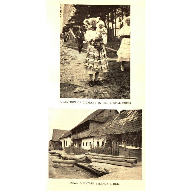 """1930s 1930 """"The Road Through Czechoslovakia"""" Collectible Book For Sale - Image 5 of 6"""