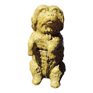19th C. Jermoe Massier Vallauris Dog Model For Sale