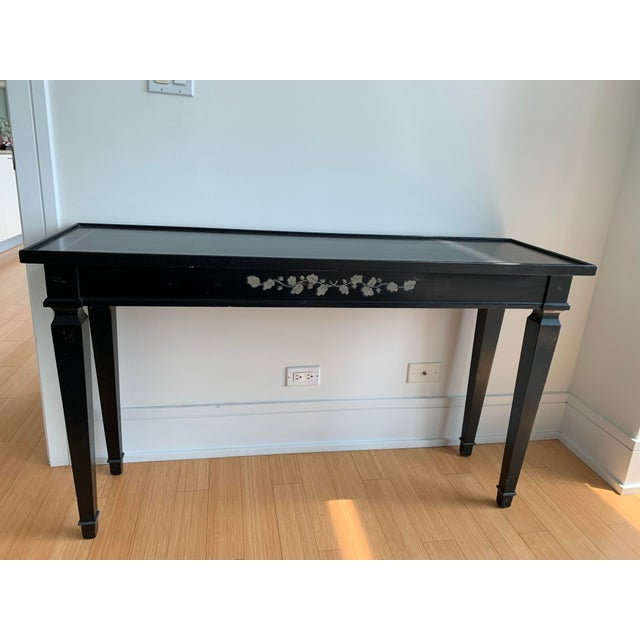 Outstanding Vintage Contemporary Crate Barrel Console Table Onthecornerstone Fun Painted Chair Ideas Images Onthecornerstoneorg