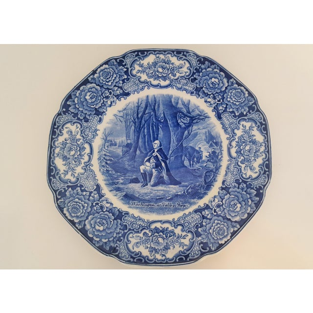 Vintage George Washington Bicentenary Memorial Plates 1732-1932 Crown Ducal England - Image 4 of 5