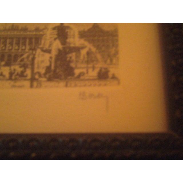 Henri Be'rengier Signed Paris Engraving - Image 7 of 8