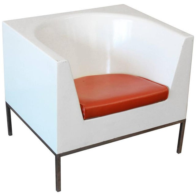 Massimo Vignelli Style Plastic Cube Lounge Chairs, 1970s For Sale - Image 10 of 10