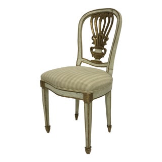 Charming European Side Chair For Sale