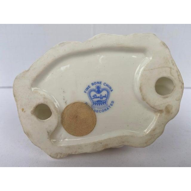 White Mid Century Bone China Owl Figurine For Sale - Image 8 of 9