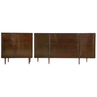 Set of Edward Wormley Dressers For Sale
