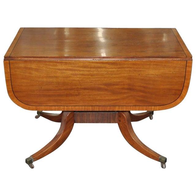 19th Century English Regency Mahogany Breakfast Table C.1815 For Sale