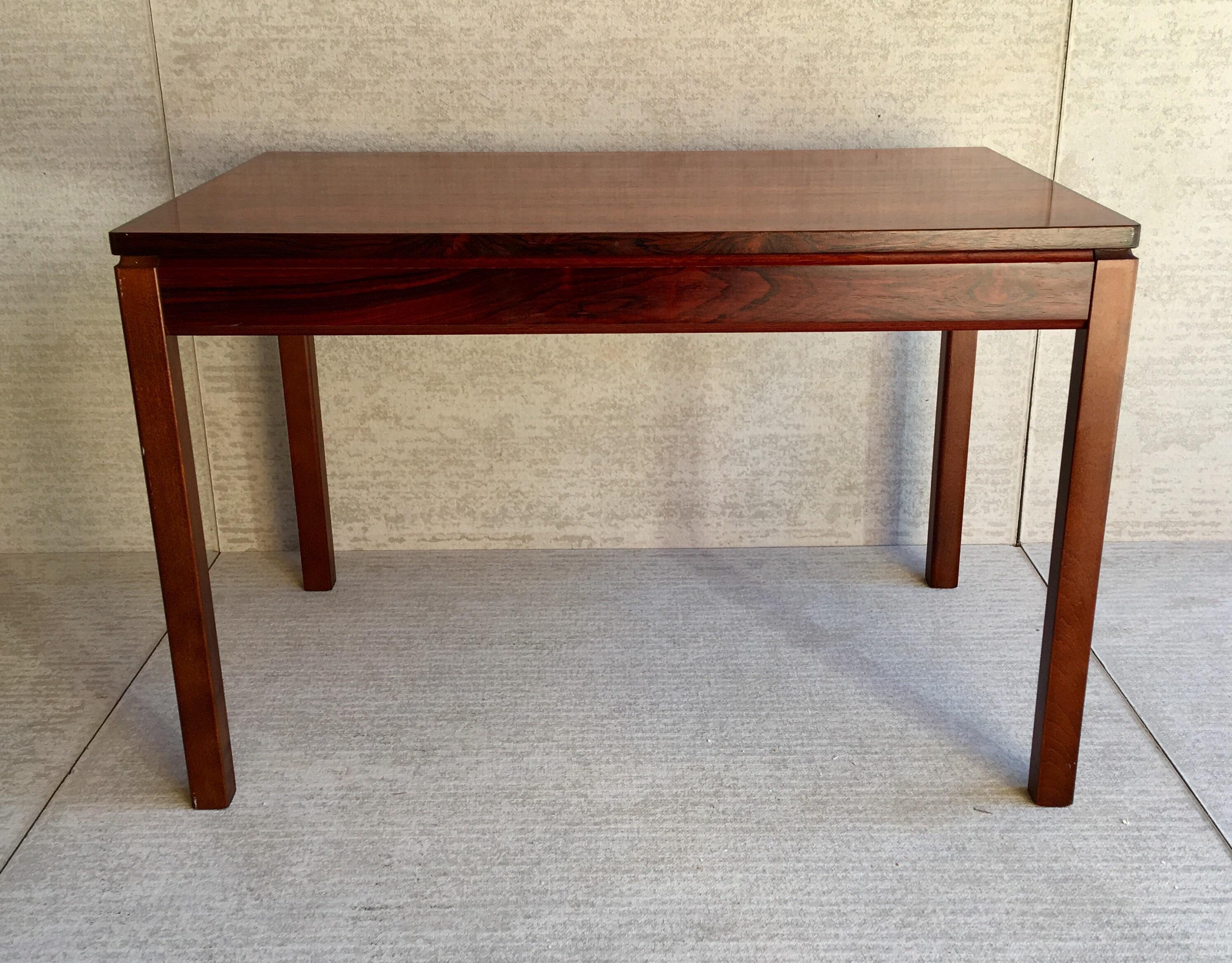 Heggen Scandinavian Rosewood Table For Sale   Image 4 Of 11