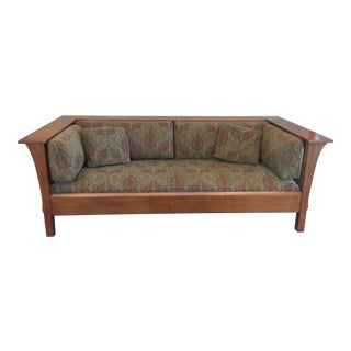 Stickley Mission Oak Prairie Settle For Sale