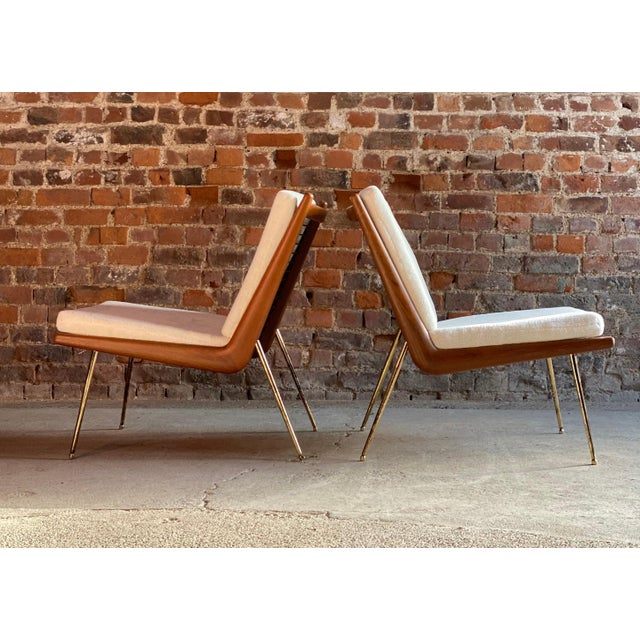Wood Boomerang Chairs France & Son Peter Hvidt & Orla Mølgaard Nielsen, 1950s - A Pair For Sale - Image 7 of 13
