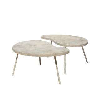 Ying Yang Coffee Table or Side Tables For Sale