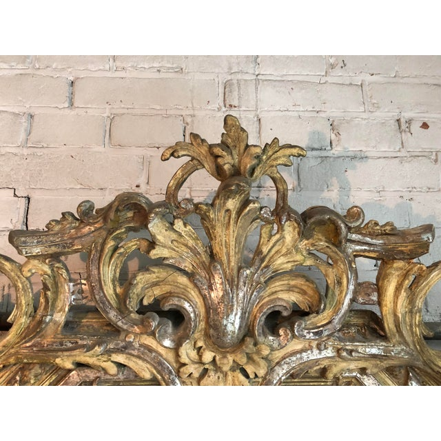 French Provincial 19th Century Pareclose Mirror For Sale - Image 3 of 6