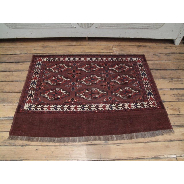 """Traditional Antique Turkmen """"Chuval"""" For Sale - Image 3 of 7"""