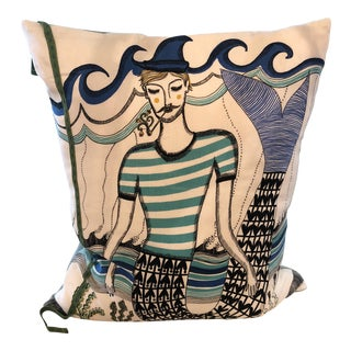 Custon Made Figural Pillow For Sale