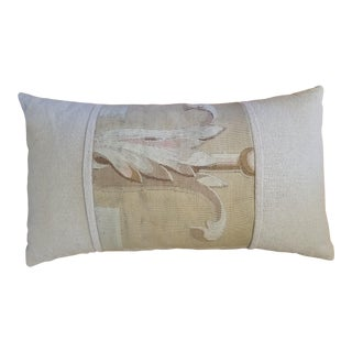 French Aubusson Custom Lumbar Pillow