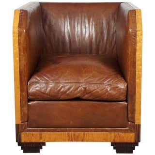 French Art Deco Armchair For Sale