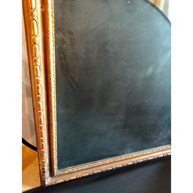 Large Carved Rococo Wall / Console Mirror W. Grape and Scroll Design For Sale - Image 11 of 12