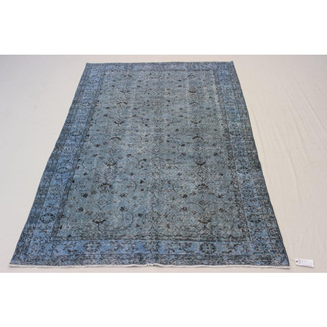 Vintage Overdyed Turki̇sh Rug - 5′8″ × 9′4″ - Image 2 of 8
