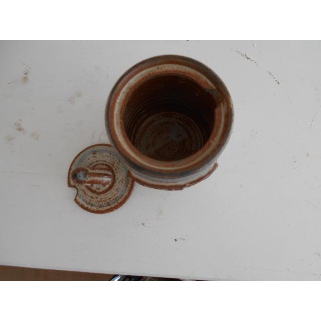 Rustic Pottery Honey Pot - Image 7 of 8