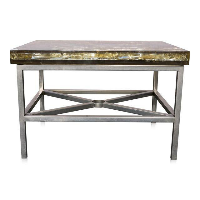 """Modern """"Shattered Dreams"""" Coffee/Side Tables For Sale - Image 3 of 5"""