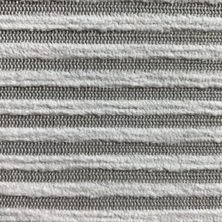 Natural White Linen & Cotton Fine Textured Fabric- 4 Yards For Sale