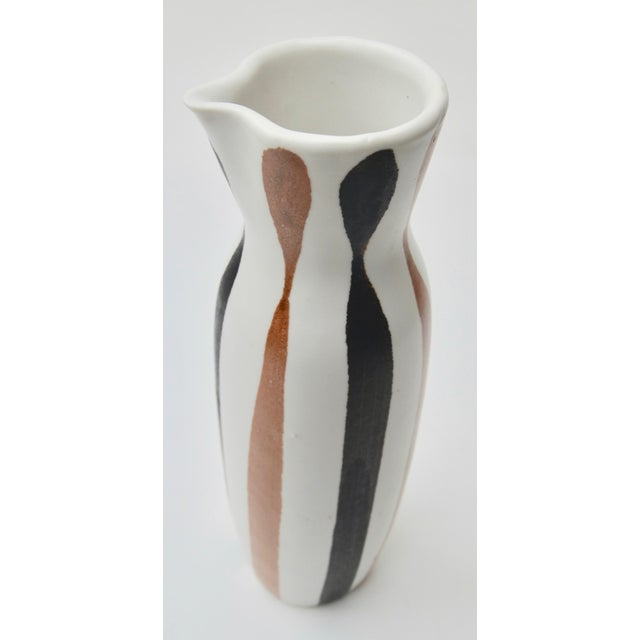 1950s Frank Mann Studio Pottery Pitcher For Sale - Image 4 of 6