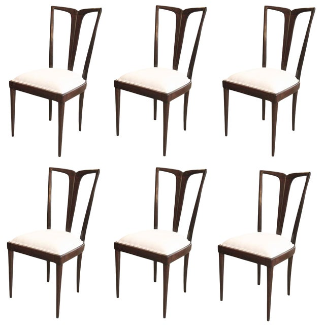Osvaldo Borsani Dining Chairs - Set of 6 For Sale