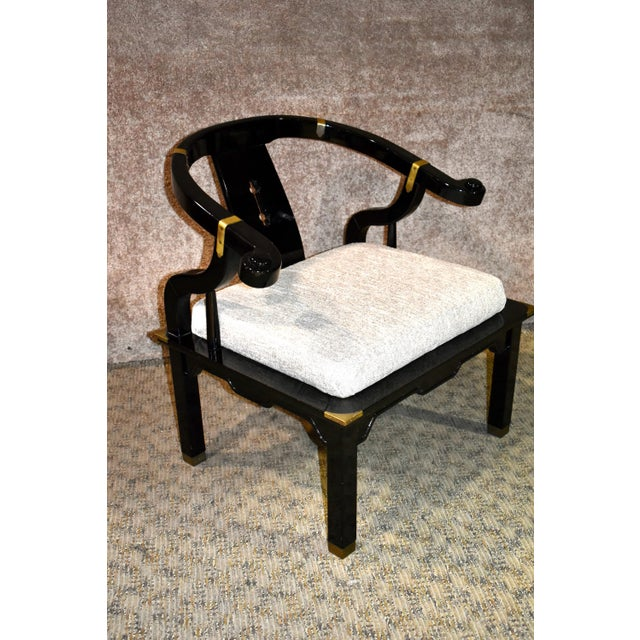 Wood 1980s Pallavisini Asian Style Italian Chair For Sale - Image 7 of 12
