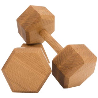 Asa Pingree Tidewalker Free Weights in White Oak For Sale