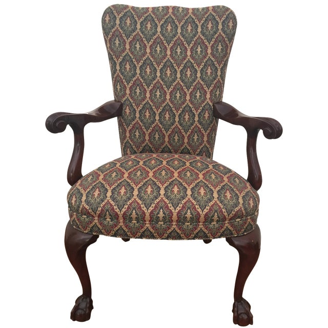 Colonial Reproduction Ball Claw Style Chair - Image 1 of 6