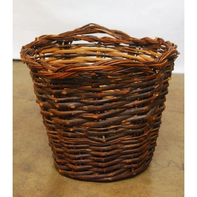 French Vineyard Harvest Basket - Image 3 of 5