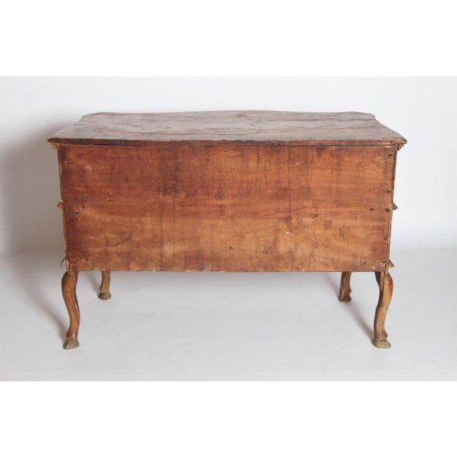 Mid 18th Century Italian Painted Two Drawer Commode For Sale - Image 11 of 13