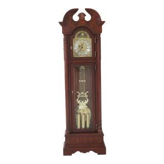 Sligh Cherry Grandfather Clock For Sale