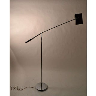 Kovacs Counterweight Black and Chrome Floor Lamp Preview